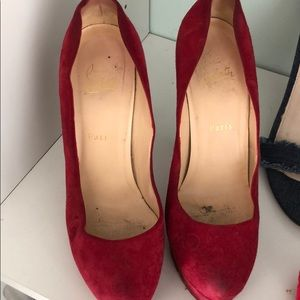 Red ChristianlouBoutin